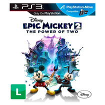 Game Ps3 Epic Mickey: The Power Of Two