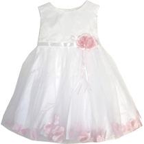 Vestido Infantil Batizado, Casamento, Festa, Dama De Honra