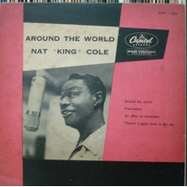 Nat King Cole Araund The World -compacto Vinil Capitol 45rpm