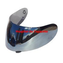 Viseira Agv K3 / K4 Espelhada Prata Anti-risco