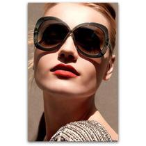## Óculos De Sol Vintage, Oversized Inspired Ford Margot ##