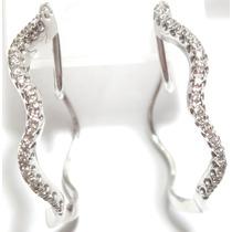 Diamantes Em Maravilhosas Argolas 18k 750!!