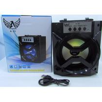 Caixa De Som Bluetooth Alto Falante Móvel Mp3 Altomex A-20 (