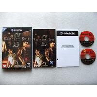 Game Cube: Resident Evil Zero Americano Completo! Raridade!