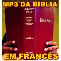 Dvd Da Bíblia Em Francês Narrada Em Áudio Mp3 + Frete Grátis
