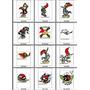Coleção Bordados Pica Pau Com 12 Motivos