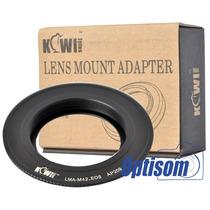 Anel Para Canon Eos Para Usar Objetivas De Rosca M42