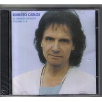 Roberto Carlos - 30 Grandes Sucessos - Cd Novo - Cd Duplo