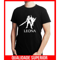 Camiseta Personalizada League Of Legends Leona Lol