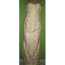 Vestido De Noiva Rendas Retro Bordado 40