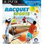 Playstation 3 Racquet Sports - Requer Move - Lacrado - Novo