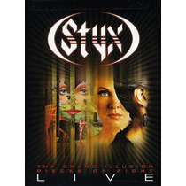 Styx - The Grand Illusion = Pieces Of Eight Live [dvd+2cd]