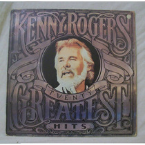 Lp Kenny Rogers - Twenty Greatest Hits (com Encarte) - 1985