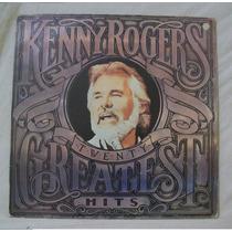 Lp Kenny Rogers - Twenty Greatest Hits (com Encarte) - 1985