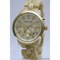 Relógio Michael Kors Mk5217 Madréperola Na Caixa Fretegratis