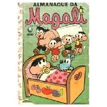 Almanaque Da Magali Nº 1 Ed. Globo Raríssimo