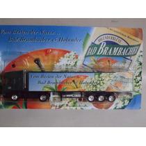 Miniatura Caminhão Truck Bad Brambacher Scania