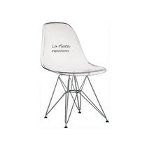 Cadeira Policarbonato Transparente Charles Eames