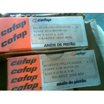 Aneis Cofap Willys 4 Cilindros Hurricane U.s.a. Jeep 51