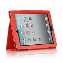 Capa Case Executiva Livro Para Apple Ipad 2 Em Couro Luxo