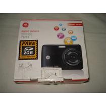 Câmera Digital Ge Modelo C1233 - Segue Só A Câmera