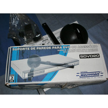 Suporte Parede Dvd /blu-ray/decoder Paraborica Ps2 Home Wi-f