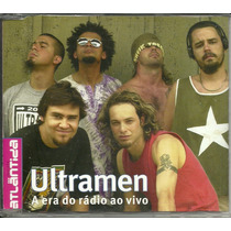 Cd Ultramen - 2001 - A Era Do Rádio Ao Vivo