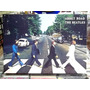 The Beatles Abbey Road - Lindo Quadro Poster Madeira