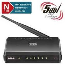 Roteador Sem Fio D-link Dir-600 150mbps Padrão N Antena 5dbi