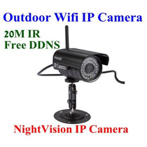 Camera Ip Externa Wireless Sem Fio Internet Iphone E Android