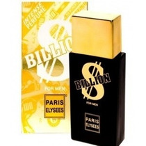 Billion - Masculino - Edt 100 Ml - Paris Elysees