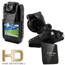 Camera Filmadora Dvr Veicular Hd P5000 Carro Moto Taxi Gopro
