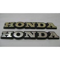 Emblema Tanque Honda Cb400 / Cb400ii (par)