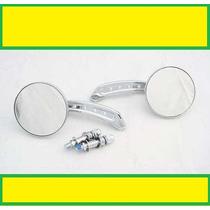 Retrovisor Mini Round -shadow/harley/drag/boulevard/virago