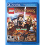 Lego The Lord Of The Rings - Ps Vita - Lacrado - Original.