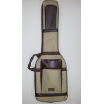Semi Case Gold Maestro (bag) Para Guitarra, Super Luxo.