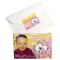 30 Convites Personalizados Infantis 07 X 10 + Envelopes