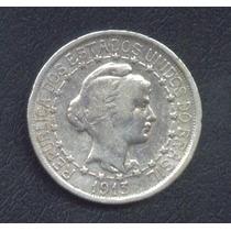 Moeda Prata 1000 Réis 1913 - X Gramas Mbc (estrelas Ligadas)