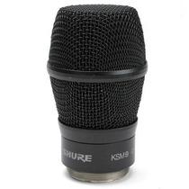 Cápsula Para Microfone Shure Sem Fio Ksm 9 Preto - Rpw184