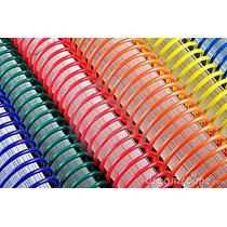 Espirais Para Encadernação De Espiral Colorido 7mm 25 Folhas