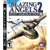 Jogo Semi Novo Blazing Angels 2 Secret Missions Of Wwii Ps3