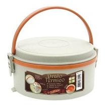 Prato Termico Marmita Termica Plastica Com Alça 1.6lts