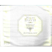 Miles Davis Anthology Box Com 3 Cds - Cd Importado