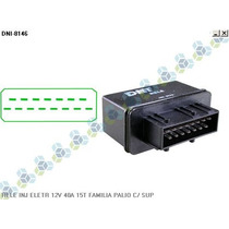 Rele Injeção Eletronica 12v 40a 15t Familia Palio C/ Suporte