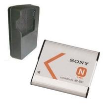 Carregador + Bateria Camera Bn1 Sony Dsc-wx5c Dsc-wx7 Dsc-wx