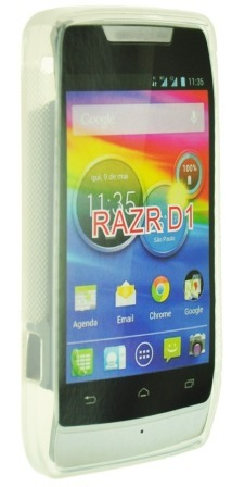 Capa Silicone Tpu Motorola Razr D1 Xt916 Xt918 Promoção