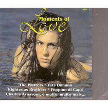 Cd Moments Of Love - Vol.1 - Frete Gratis
