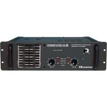 Amplificador De Potência Ciclotron Dynamic 8000 2.000 Watts