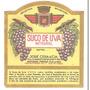 Rótulo Antigo Do Suco De Uva Integral Cesa (anos 50)