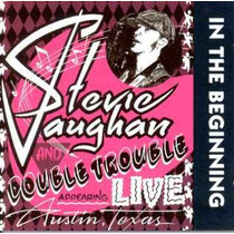 Cd Stevie Ray Vaughan - In The Beginning *lacrado*